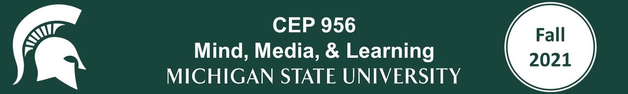 CEP 956 Fall 2021